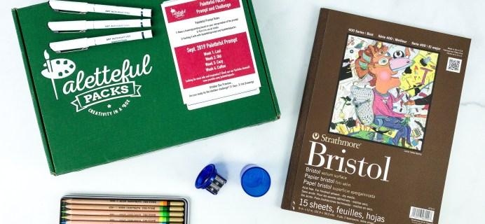 Paletteful Packs September 2019 Subscription Box Review + Coupon – Tri-tone Pencils