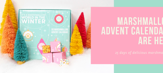 2019 XO Marshmallow Advent Calendar Available Now For Pre-Order!