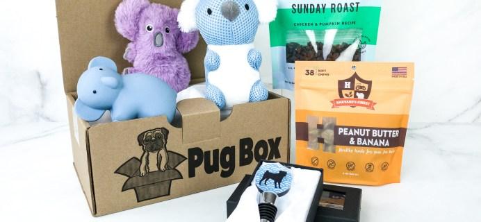 Pug Box October 2019 Subscription Box Review + Coupon!