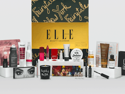 2019 ELLE Beauty Advent Calendar Available Now + Full Spoilers! {UK}