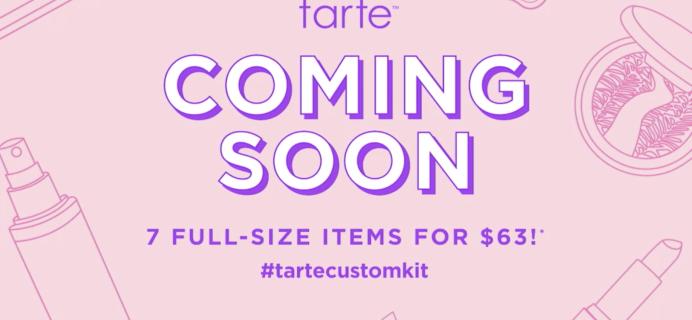 Tarte DIY Beauty Box COMING SOON!