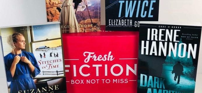 Fresh Fiction Box November 2019 Subscription Box Review + Coupon