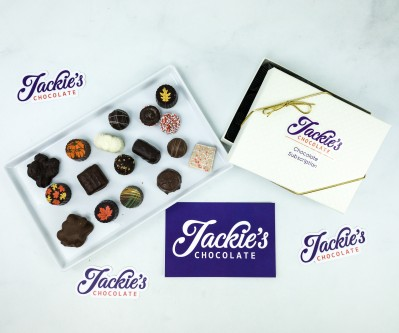 Jackie's Chocolate November 2019 Subscription Box Review + Coupon