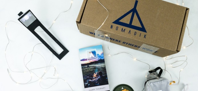 Nomadik October 2019 Subscription Box Review + Coupon