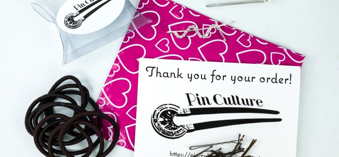 Pin Culture Subscription Box Review + Coupon  – Bobby Pins and Hair Ties Box