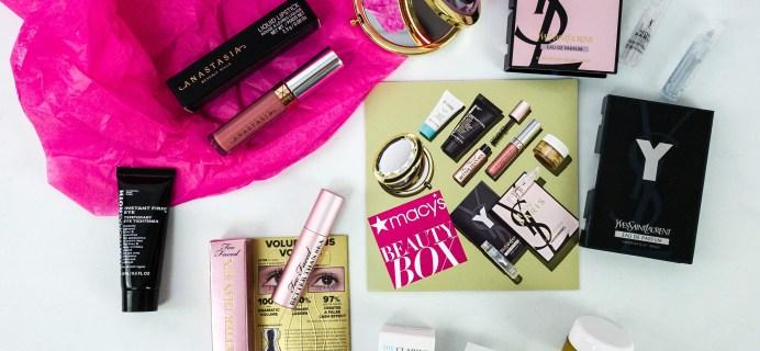 Macy's Beauty Box November 2019 Subscription Box Review