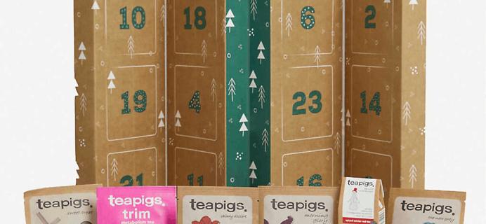 2019 TeapigsTea Advent Calendar Available Now!