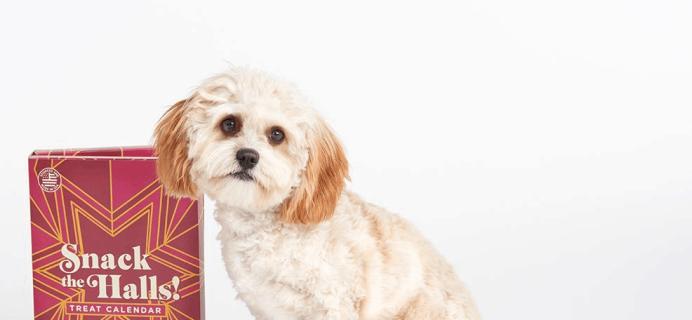 2019 BarkBox Dog Treat Advent Calendar Available Now!