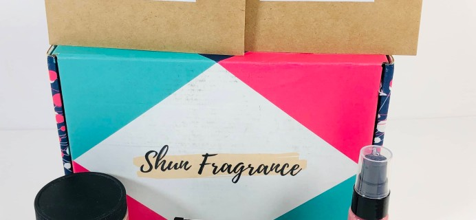 Shun Fragrance November 2019 Subscription Box Review + Coupon