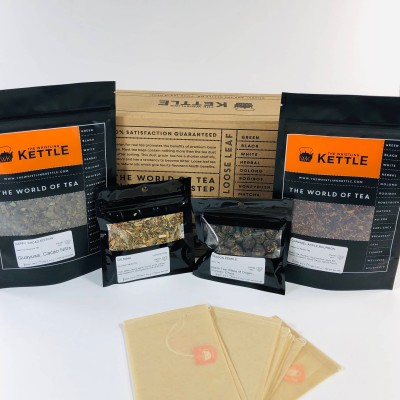 Whistling Kettle Tea of The Month November 2019 Subscription Box Review