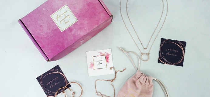 Glamour Jewelry Box October 2019 Subscription Box Review + Coupon