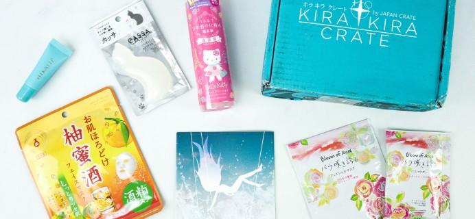 Kira Kira Crate November 2019 Subscription Box Review + Coupon