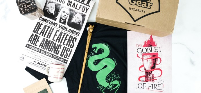 Geek Gear World of Wizardry October 2019 Subscription Box Review & Coupon