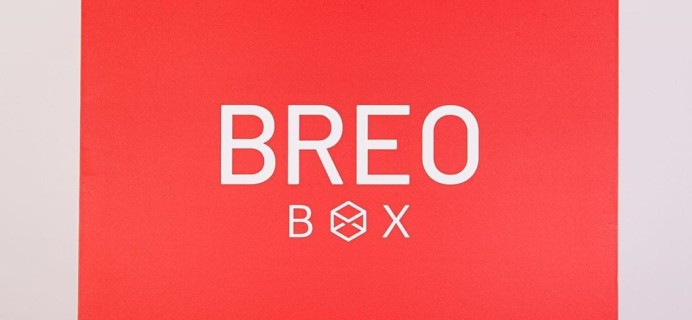 Breo Box Winter 2019 Full Spoilers + Coupon!