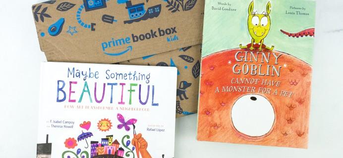 Amazon Book Box Kids November 2019 AGE 3-5 Review + BLACK FRIDAY Coupon!