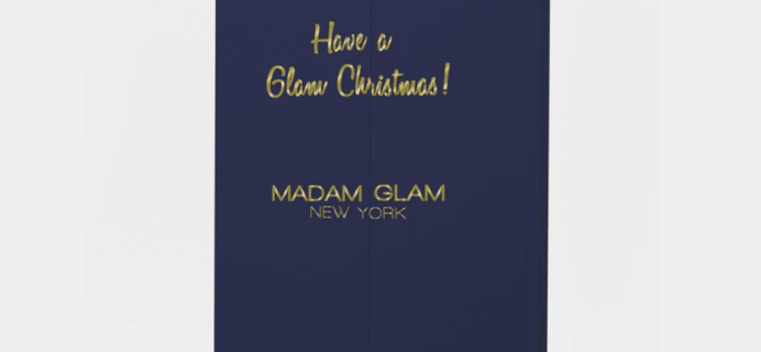 2019 Madam Glam Advent Calendar Available Now + Full Spoilers!