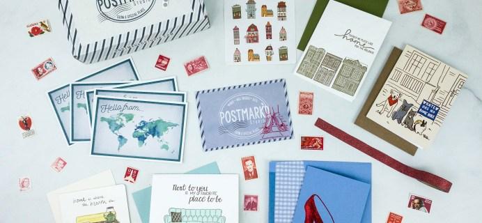 PostBox Subscription Box Review + Coupon – November 2019