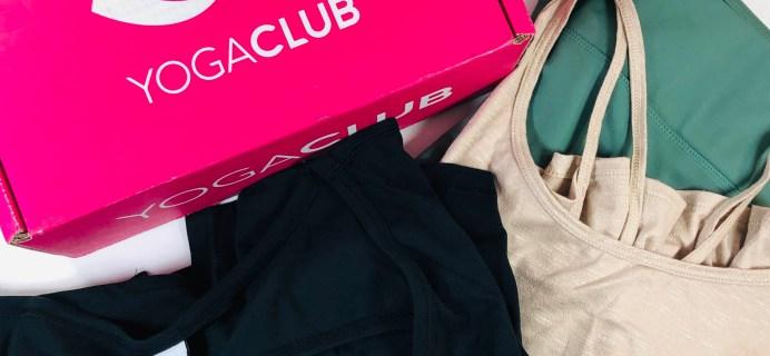 YogaClub Subscription Box Review + Coupon – November 2019 Plus Size