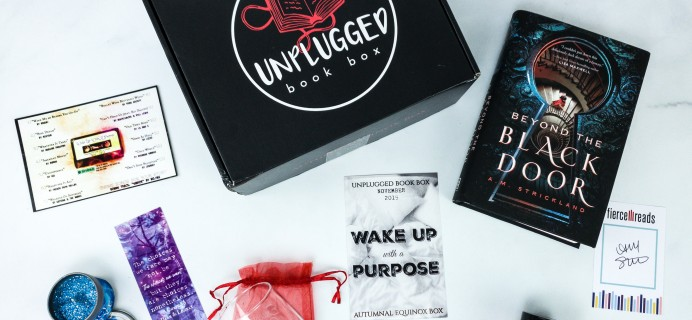 Unplugged Book Box November 2019 Adult Fiction Subscription Box Review + Coupon!