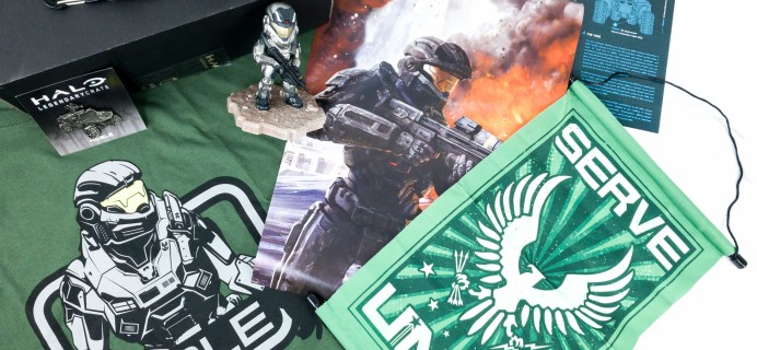 Halo Legendary Crate June 2019 Subscription Box Review + Coupon