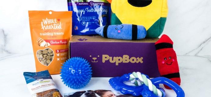 PupBox November 2019 Subscription Box Review + Coupon!
