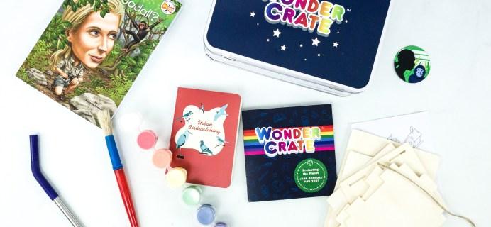 Wonder Crate November 2019 Subscription Box Review + Coupon!