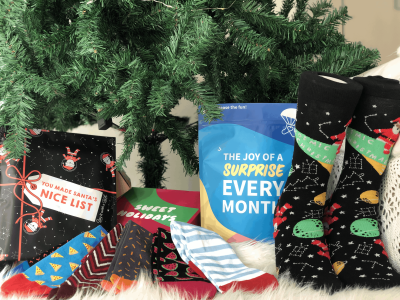 Say It With A Sock Cyber Monday Deal: FREE Socks Every Month With Subscription!