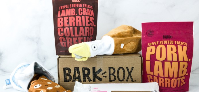 Barkbox November 2019 Subscription Box Review + Coupon