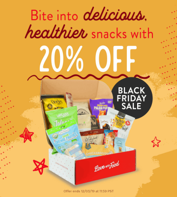 Love With Food Black Friday 2020 Coupon: 20% Off ALL Plans!
