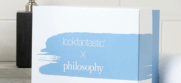 Look Fantastic X Philosophy Limited Edition Beauty Box Available Now + Full Spoilers!