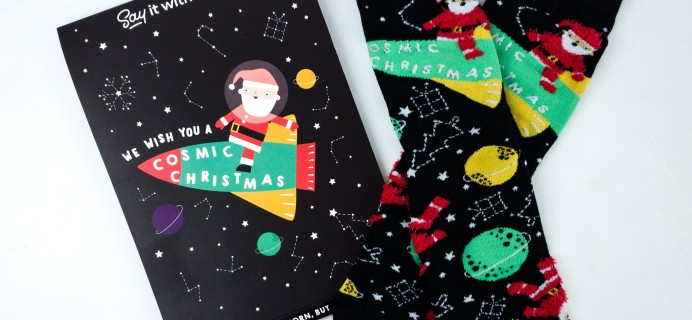 Say It With A Sock Free Christmas Socks Review + Coupon