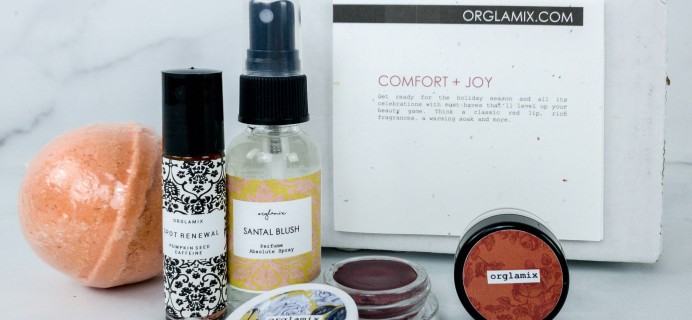 Orglamix October 2019 Subscription Box Review