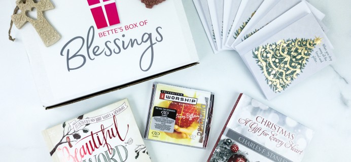 Bette's Box of Blessings Black Friday 2019 Deal: Get $10 Off!