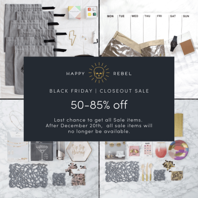 Happy Rebel Box Black Friday Shop Sale: Up To 85% Off!