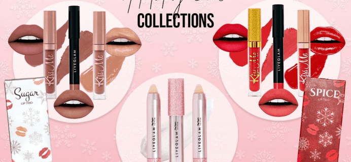 LiveGlam KissMe Holiday Lippies Available Now + Coupon!