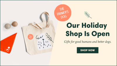 The Farmer's Dog Holiday Gifts Available Now!