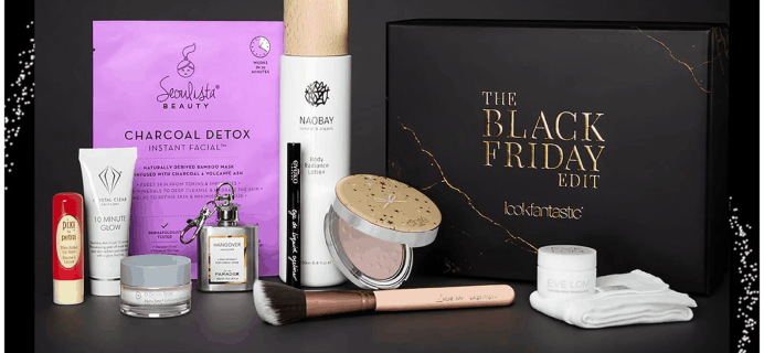 Look Fantastic Black Friday 2019 Limited Edition Box Available Now + Full Spoilers + Coupon!