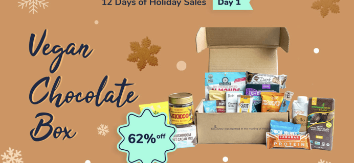 Vegan Cuts Pre Cyber Monday 12 Days of Sales #1 – Vegan Chocolate Box