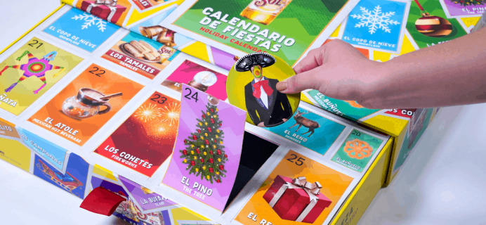 Sol Holiday Advent Calendar Available Now!