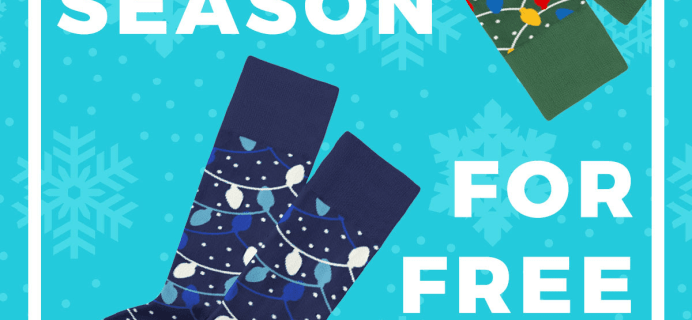 Sock Fancy Coupon: FREE Limited Edition Holiday Socks!