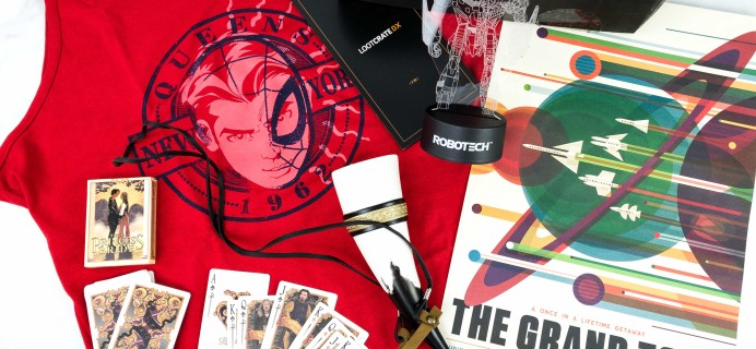 Loot Crate DX July 2019 Subscription Box Review & Coupon