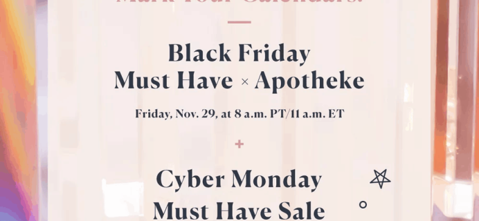 Popsugar Must Have Box 2019 Black Friday + Cyber Monday Coming Soon – Deal Preview!