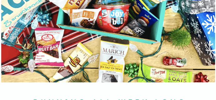 SnackSack Black Friday Coupon: Save 25% on any SnackSack plan!