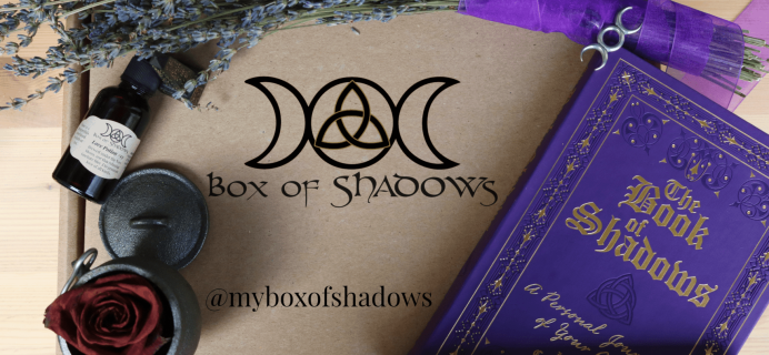 Box of Shadows Black Friday Sale: Save 25% on all subscriptions!