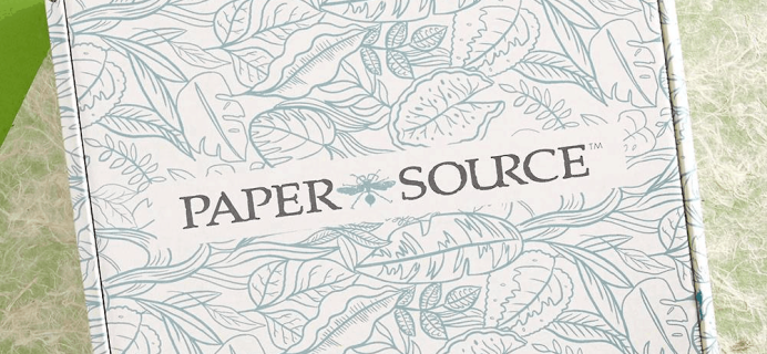 Paper Source Subscription Box Fall 2020 Full Spoilers!