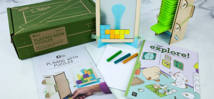 Kiwi Crate Review & Cyber Week Coupon – PLAYING WITH PUZZLES