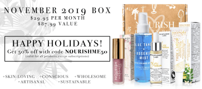 Nourish Beauty Box Black Friday Deal: 50% Off Site Wide Including Past Boxes!