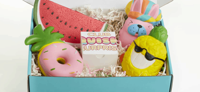 Club Squishy Surprise Black Friday Deal: Save 25% on Squishy Toy Subscriptions!