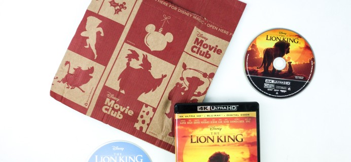 Disney Movie Club November 2019 Review + Coupon!
