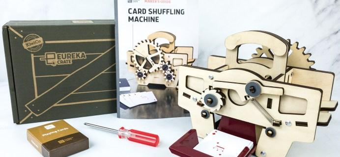 Eureka Crate Review + Coupon – CARD SHUFFLING MACHINE